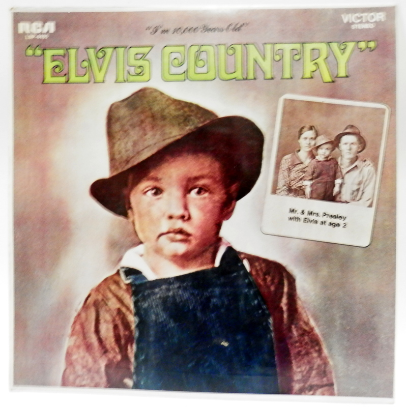 Elvis Presley - Elvis country LP