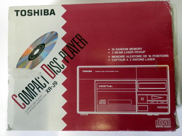 Toshiba XR-J9 Audio CD-Player
